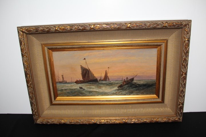 English School Original Oil on Canvas