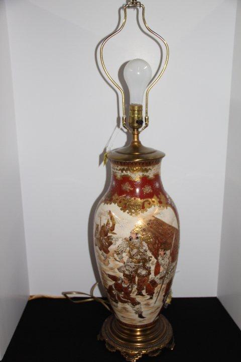 Large Decorative Oriental Lamp