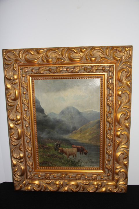 Charles W.Oswald Original Oil on Canvas