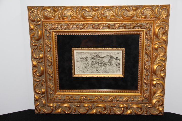 Vincent Van Gogh Copper Plate Engraving