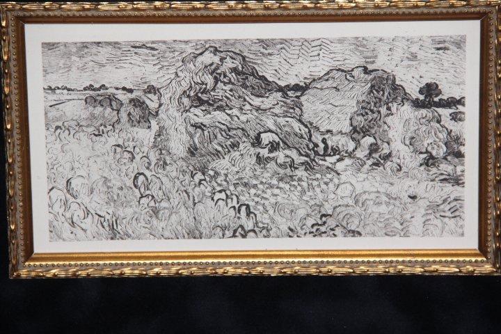 Vincent Van Gogh Copper Plate Engraving - 2