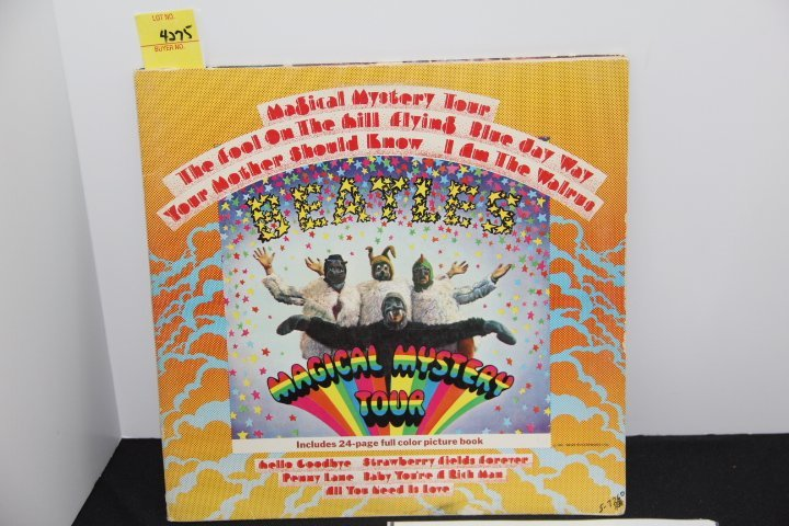 Beatles Signed Magical Mystery Tour Album