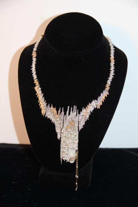 "Erté ""Sophistication"" Brooch/Necklace"