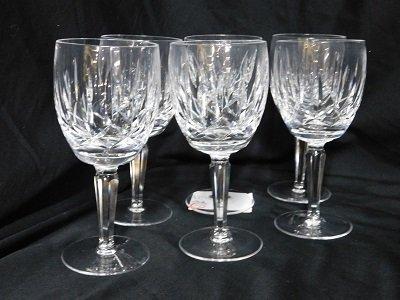 Set of Six Waterford Crystal Lismore Encore Wine