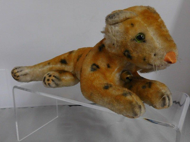 Vintage Hard Stuffed Lion