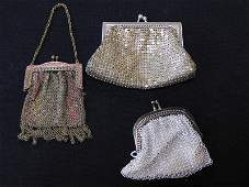 Lot of Three Vintage Coin Purses