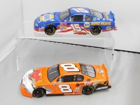Two Action Nascar Racing Collectible Die Cast Stock