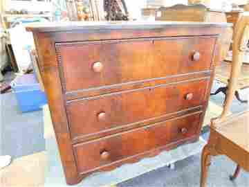 Antique English Rosewood Chest
