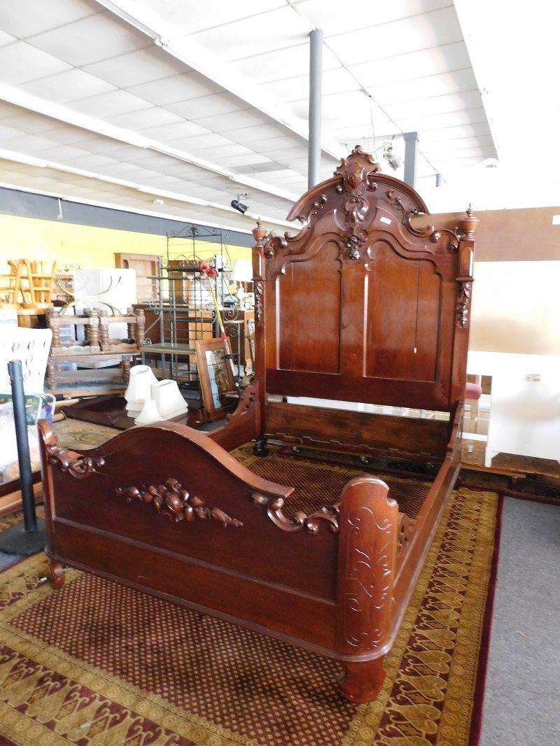 Ornate Victorian Bed Frame