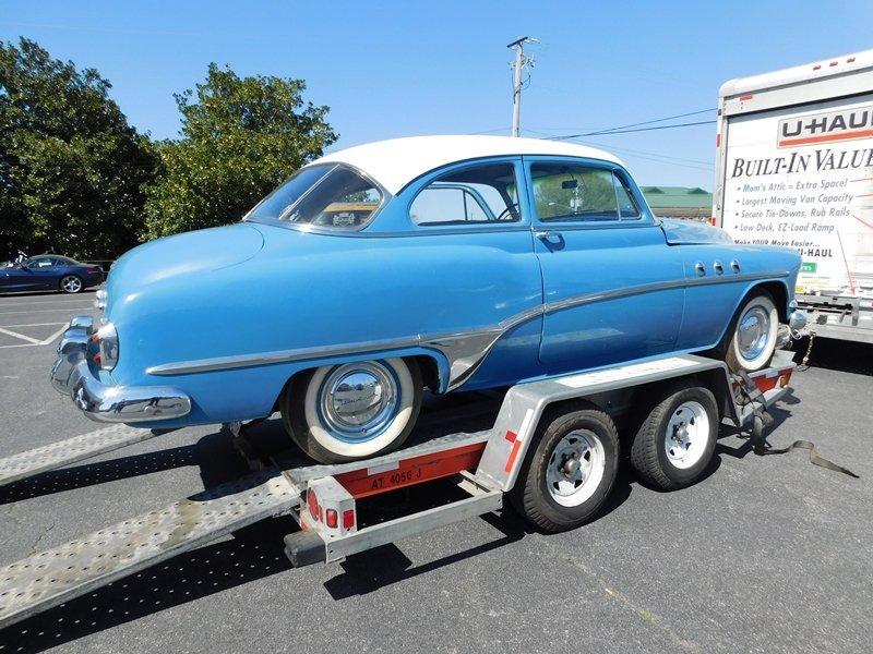 1951 Buick Eight DeLuxe 2 Door Sedan