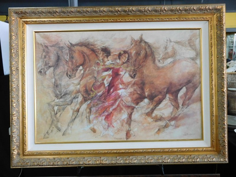 Oil on Canvas Signed Gary Benefield