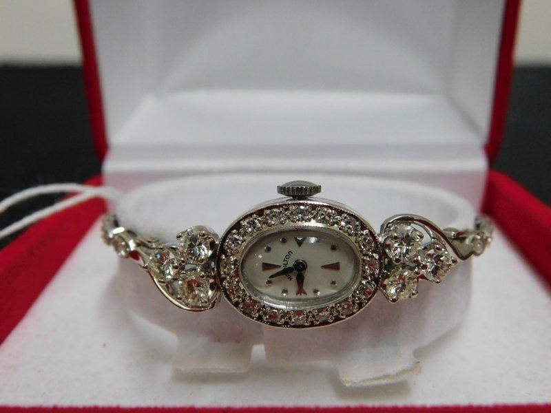 Ladies Gold and Diamond Watch