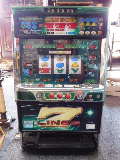 Vegas Style Slot Machine