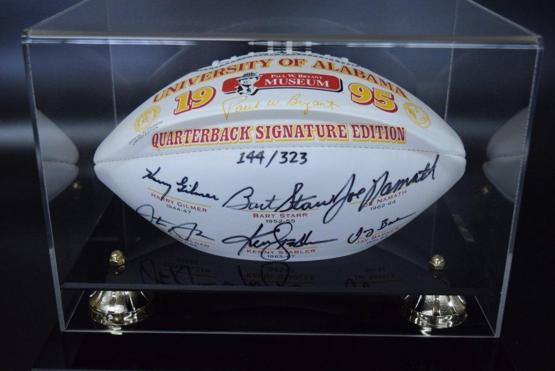 University of Alabama Quarterback Signature Edition Foo