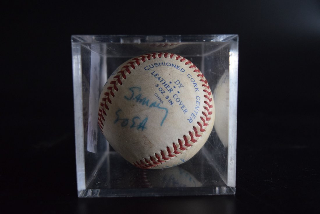 Signed Base Ball
