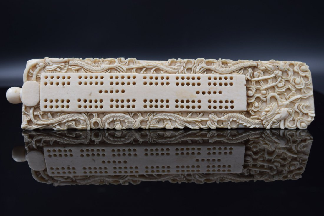 Chinese Carved Ivory Paper Weight