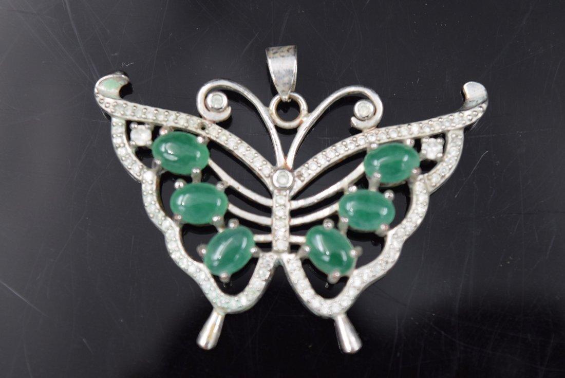 Jade Butterfly Jade Pendant