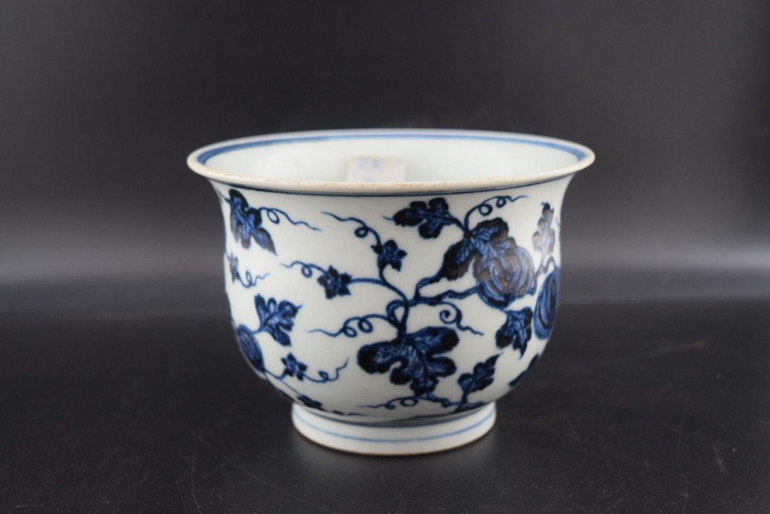 Chinese Blue & white Pot