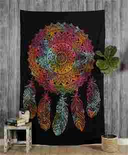 Cotton Wall Hanging Tapestry Dream Catcher Mandala