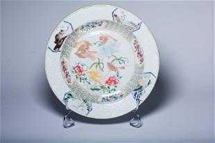 White glaze flower pattern lamp in Ding Kiln of