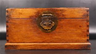 Qing huanghuali book box