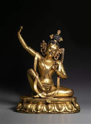 Bronze and gold Buddha statues in Ming Dynasty