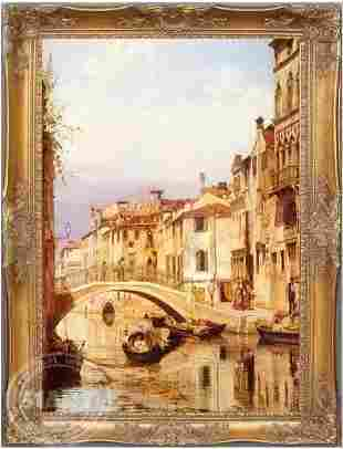 Classical Architecture Oil Painting