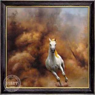 Running Horse Oil Painting