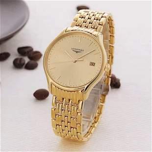 18k Gold Longines Watch L4.759.2.12.8