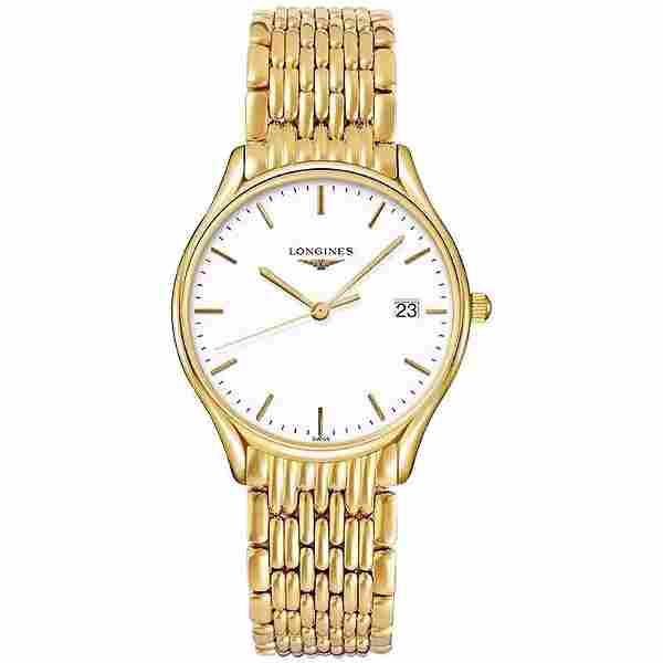 18k Gold Longines Watch L4.359.2.12.8