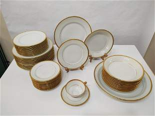 Limoges 91 PC Complete Set of 12 Settings