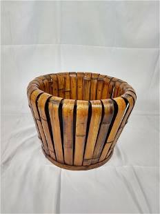 Bamboo Planter Basket