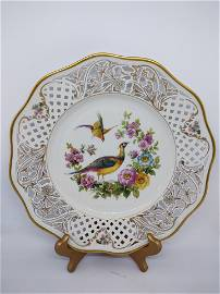 Dresden China dinner plates - Chateau Royal 11pc set