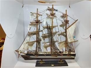 Vintage Cutty Sark 1869 Ship Model