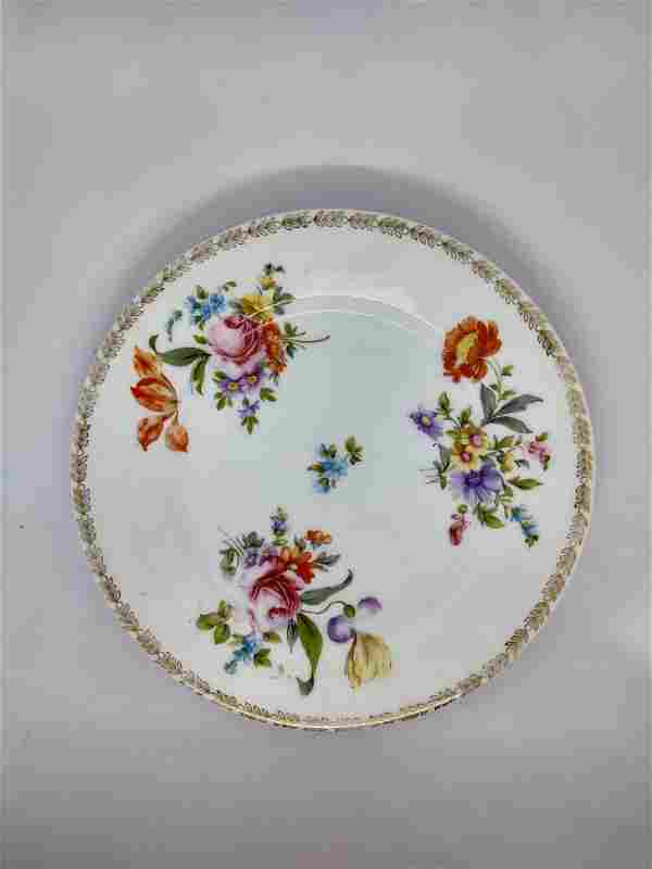 Dresden China - 9 pc salad plates
