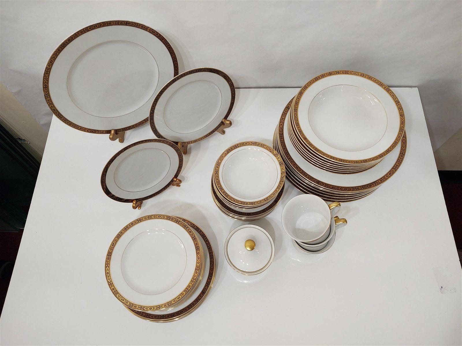 45 Pc Wyndham Fine China Dinnerware