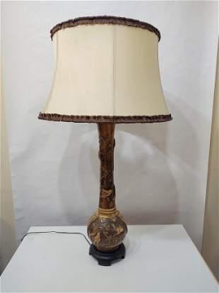 Ceramic Table Lamp/3D Bird Design