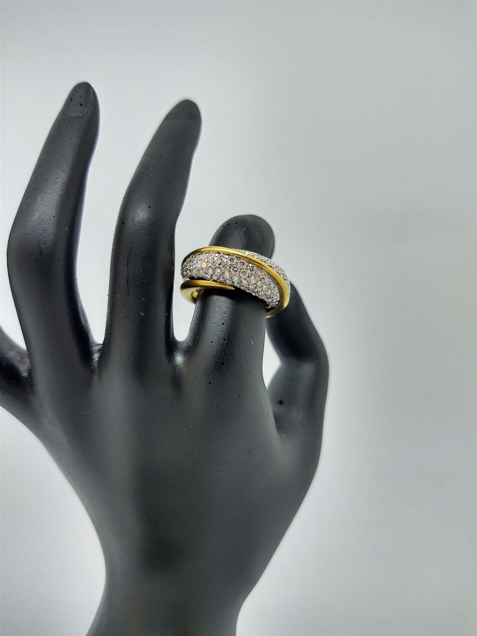 18 k Diamond Ring