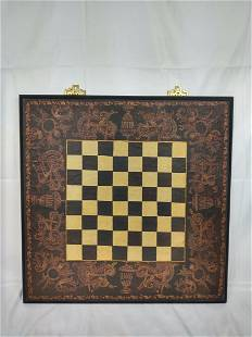 Decorative Wooden Game Board Wall Art