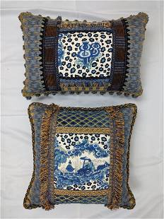 Pair of Custom Made Pillows