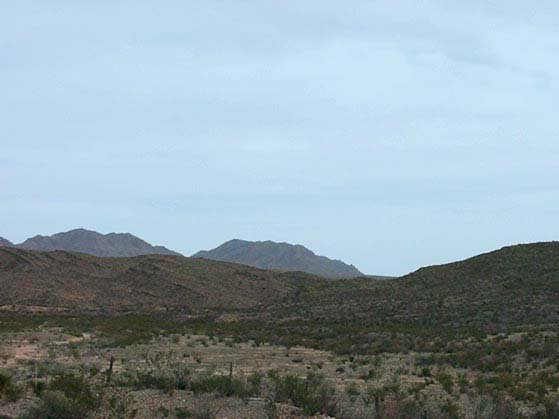 13D: 13D: TEXAS MOUNTAINS 2.08 AC EASY ACCESS OFF HWY 1