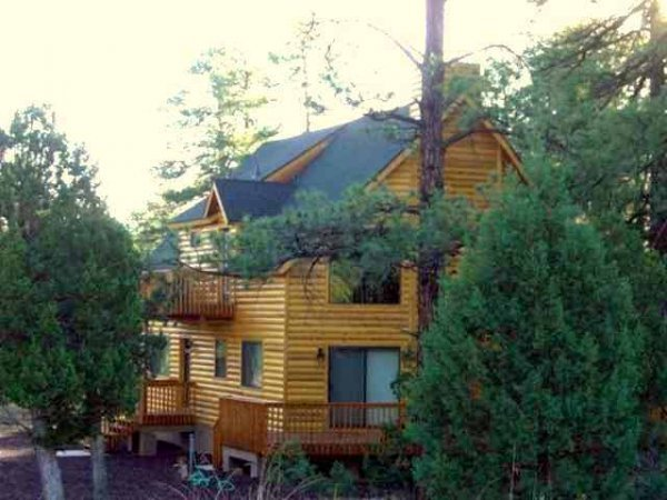 12: PINE FOREST NORTHERN ARIZONA CUSTOM CABIN .72