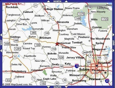 6C: DEERWOOD LAKE TEXAS, BIG LOT NEAR HOUSTON TEXAS