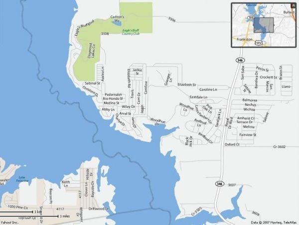 9C: LAKE PALESTINE LOT TYLER TEXAS-UTILITIES, ROADS