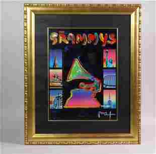 Peter Max - 50th Grammy Anniversary