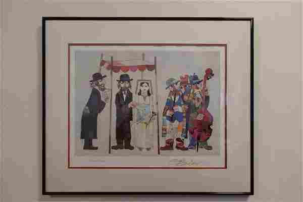Chuppah Wedding by Jovan Obican framed