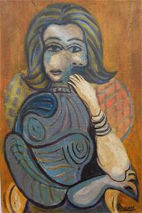 Picasso Oil On Canvas