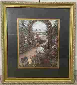 """Special Edition Print """"Secret Garden II"""" by Glynda"""