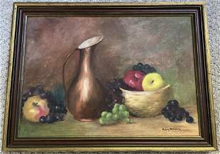 Oil on Painting by Mary dunham