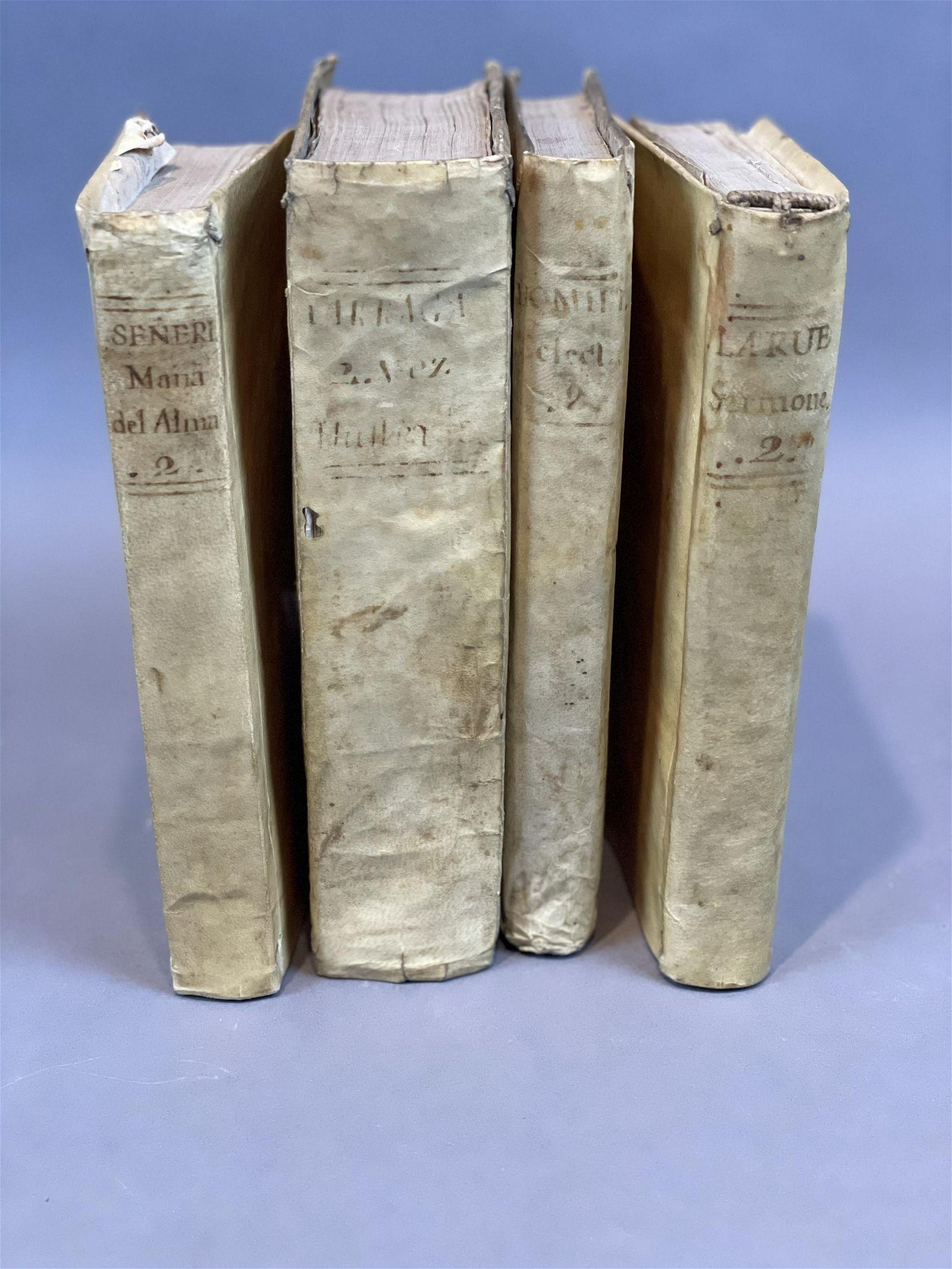 Four Antiquarian 18th Century European Books